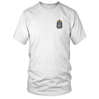 US Army - 110e bataillon chimique Patch brodé - Mens T Shirt