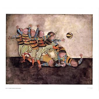 The Team Poster Print by Graciela Rodo Boulanger (33 x 27)