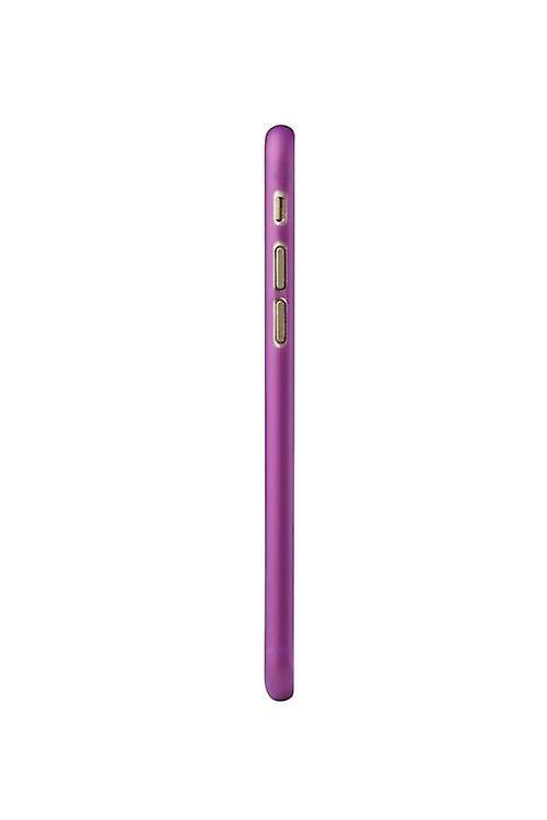 Ozaki OC555PU O! Coat jelly cover sleeve, iPhone 6 6S, purple