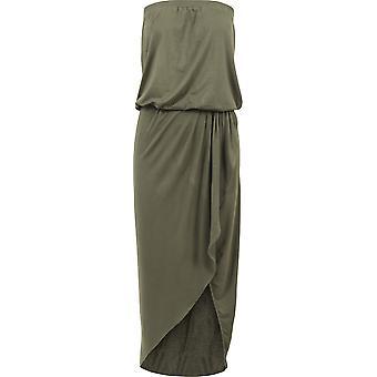 Urban classics hyvät viskoosia bandeau mekko
