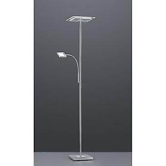 Trio Beleuchtung Wicket moderne Nickel Matt Metal Stehlampe