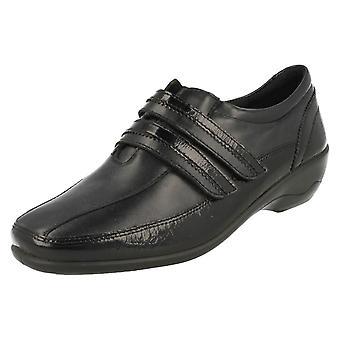 Ladies Padders Everyday Flat Shoes Velvet