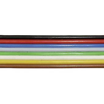 BELI BECO L 825/10 Strand 8 x 0,25 mm² musta, punainen, sininen, harmaa, vihreä, valkoinen, keltainen, ruskea 10 m