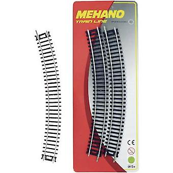 Mehano 30849 H0 set of 4 bent track