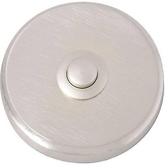 Heidemann 70083 Bell button 1x Nickel-coated 24 V/1 A