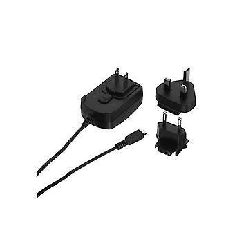 5 Pack -Blackberry International Micro USB Charger with Adapters for EU / UK / US - Universal