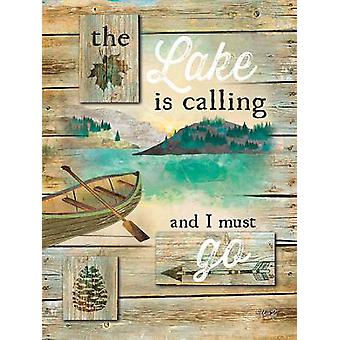 The Lake is Calling Poster Print by Marla Rae (12 x 16)