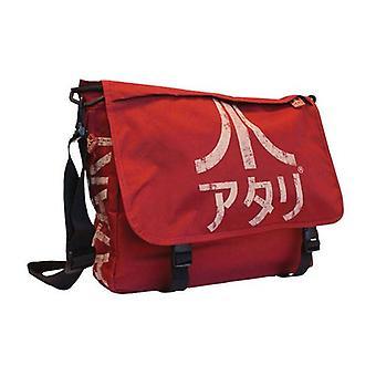 ATARI torba z Logo japoński, Crimson Red (MB221005ATA)