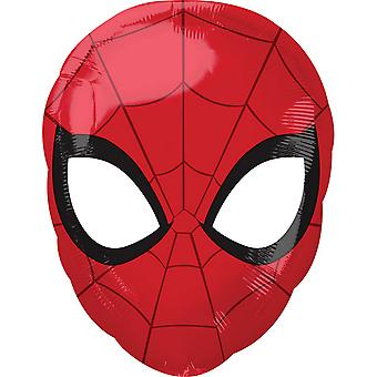 Anagram Junior Shape Spider-Man Foil Balloon