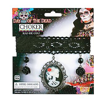 Bnov Day Of The Dead Choker