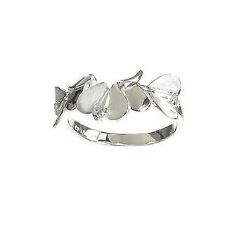 Cavendish franske Sterling sølv abstrakt engel vinger Ring