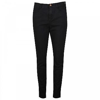 Tuzzi Ladies Straight Leg Designer Black Jeans