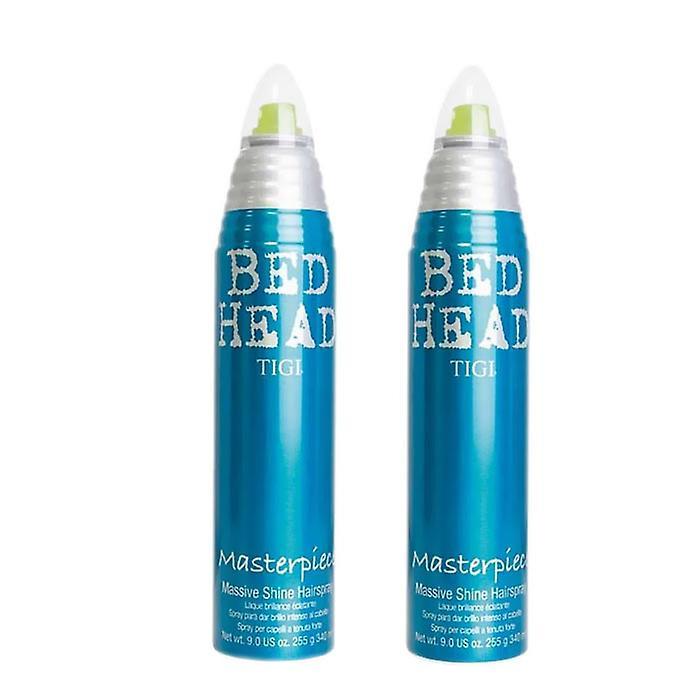 2-pack TIGI Bed Head Masterpiece Hairspray340ml