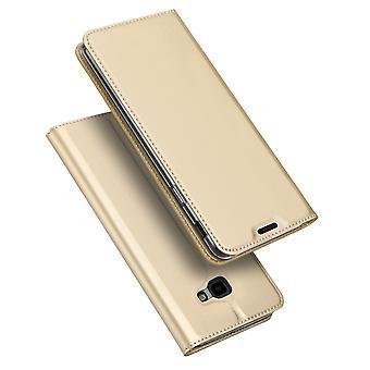 DUX DUCIS Pro Series kotelo Samsung Galaxy J4 +-kulta
