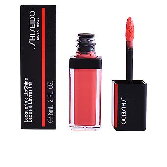 Shiseido Lacquerink Lipshine #312-electro de melocotón 6 Ml para las mujeres