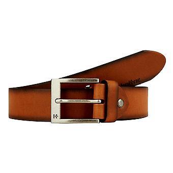 هاتريك 35 ملم جلدية حزام تان