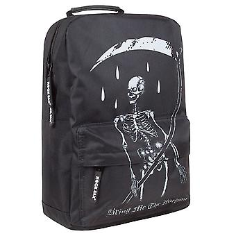 Rock Sax Bring Me The Horizon Skeleton Backpack