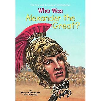 Vem var Alexander stort?