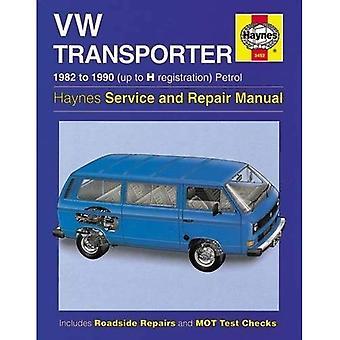 VW Transporter (Water gekoeld benzine) Service en reparatie handleiding (Haynes Service en reparatie handleidingen)