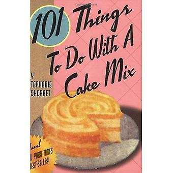101 choses à faire avec un gâteau mélanger