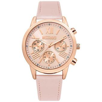 Missguided | Ladies Pink Leather Strap | Pink Dial | MG019PRG Watch
