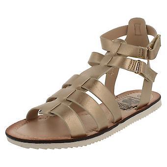 Ladies Down To Earth Gladiator Sandal