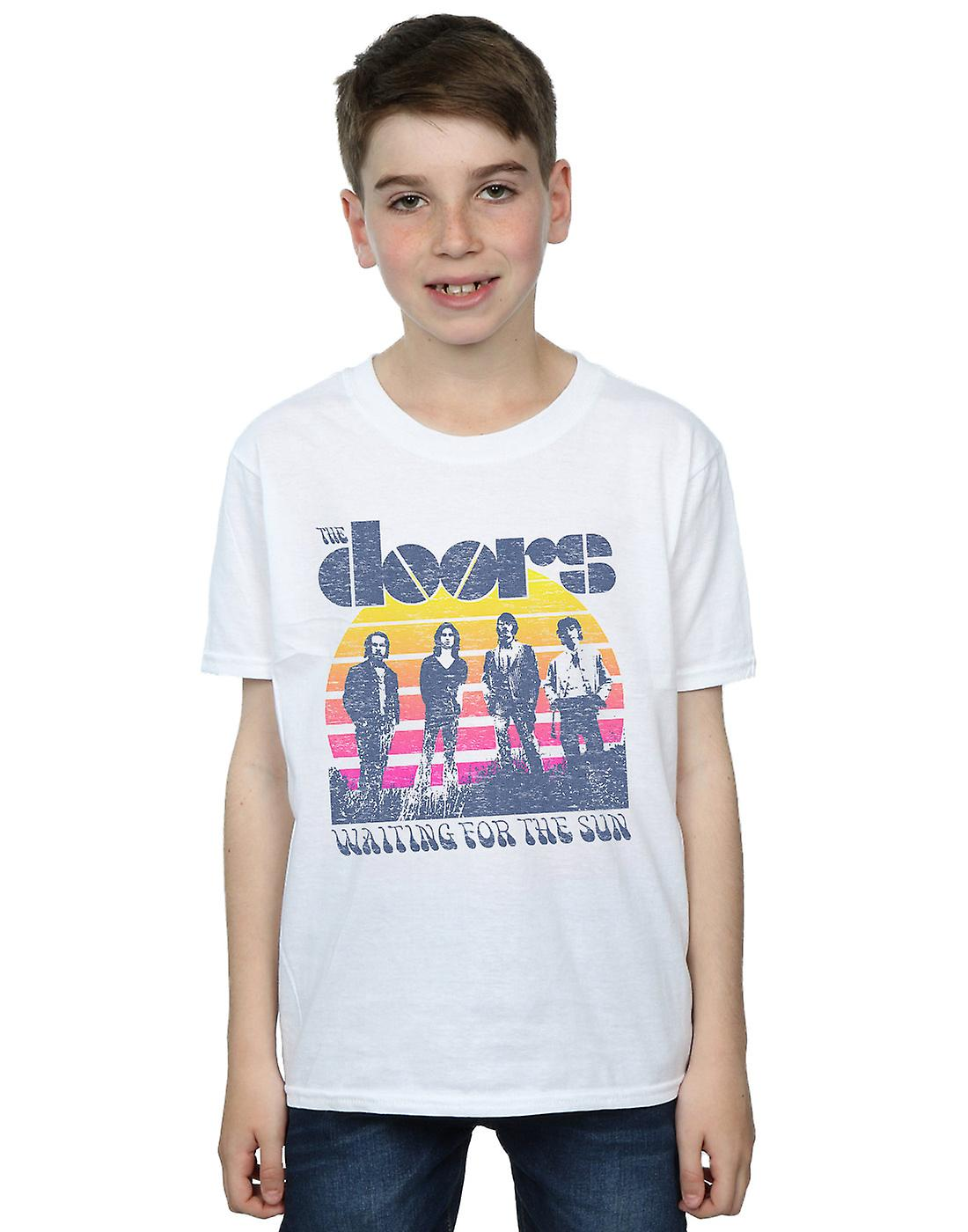 The Doors Boys Waiting For The Sun Band T-Shirt