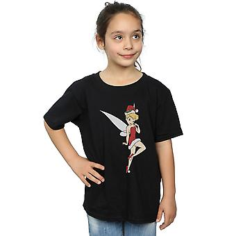 Disney Girls Tinker Bell Christmas T-Shirt