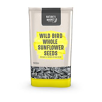 Natures Market 0.9kg (2 lbs) Bag of High Energy Sunflower Seed Feed Wild Bird Food