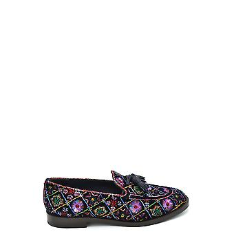 Fratelli Rossetti Ezbc052025 Women's Multicolor Suede Loafers