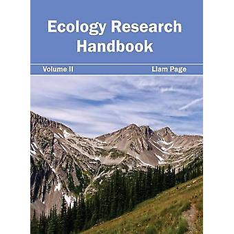 Ekologi forskning handbok volym II av sidan & Liam