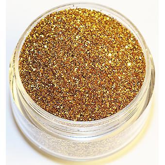 1x Feinkörniges Glitter gold Metallic