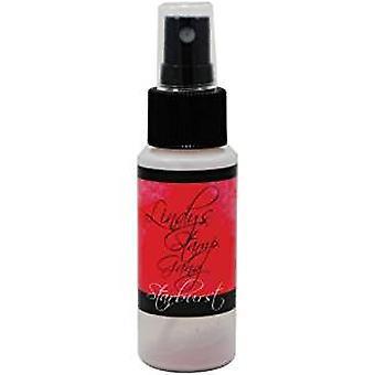 Lindy's Stamp Gang Peony Scarlet Red Starburst Spray