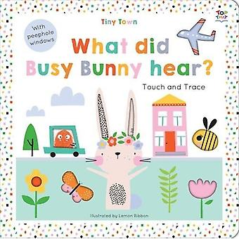 Tiny Town What did Busy Bunny hear? by Oakley Graham - 9781787003699