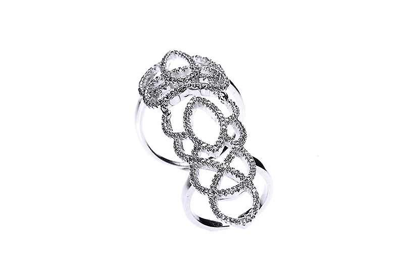 Statement Long Princess Double Jointed Ring