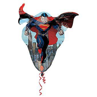 Amscan Supershape Superman Shaped Foil Party Balloon