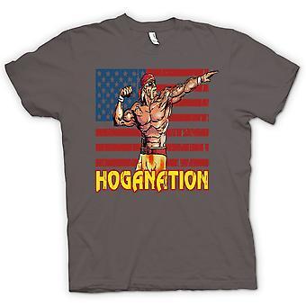 Womens T-shirt - Hoganation - Hulk Hogan US Flag