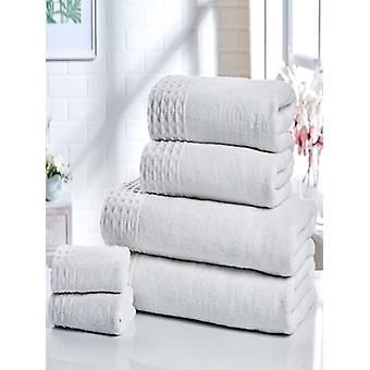 Retraite 6 stuk handdoek Bale wit