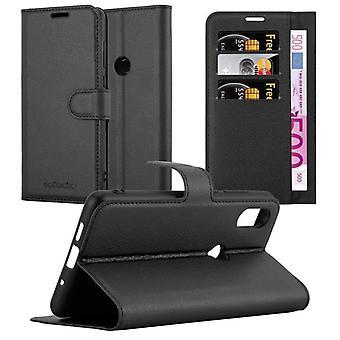 Cadorabo Hülle für Xiaomi Mix 2S hülle case cover - Handyhülle mit Magnetverschluss, Standfunktion und Kartenfach – Case Cover Schutzhülle Etui Tasche Book Klapp Style