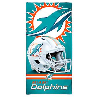 Wincraft NFL Miami Dolphins 3D strand handduk 150x75cm