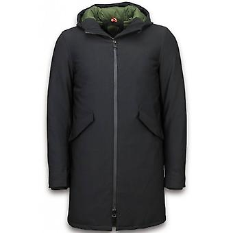 Mens long Hooded jacket-men Jackets Parka