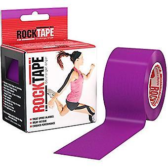 RockTape hipoalergenic puternic adeziv kinesiologie bandă roll-violet