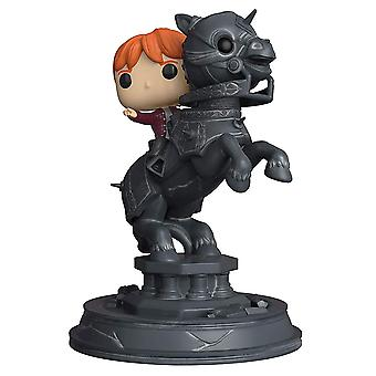 Harry Potter Ron riding Chess Knight øyeblikk pop! Vinyl