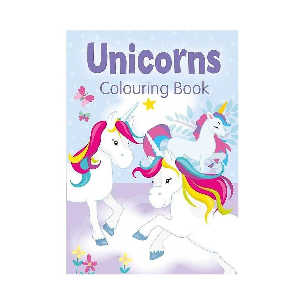 Unicorn målarbok
