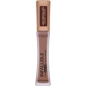 L'Oreal Paris Cosmetics Infallible Pro Matte Les Chocolats Scented Liquid Lipstick