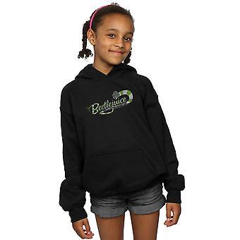 Beetlejuice Girls Sandworm Alt Logo Hoodie