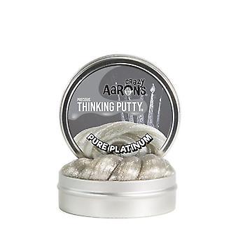 Crazy Aaron Pure Platinum Thinking Putty 8Cm Tin