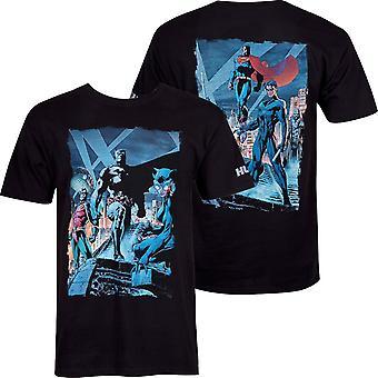 באטמן הס הקומיקס מפגש תמונות גברים ' חולצת s טי
