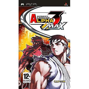 Street Fighter Alpha 3 max (PSP)-fabriken förseglad