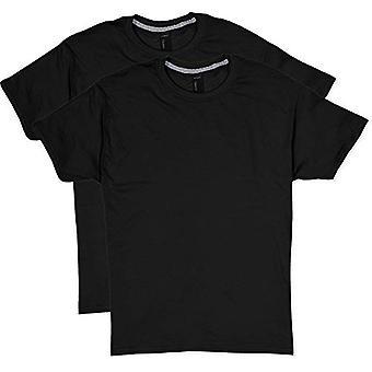 Hanes Men's 2 Pack X-Temp Performance T-Shirt, Black, 3X-Large, Black, Size 3.0